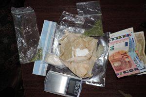 Tauragėje demaskuotas ir heroino platintojas, ir pirkėjas