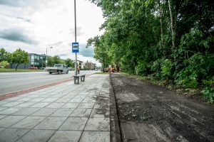 Iš Kleboniškio į Kauno centrą – nauju dviračių taku