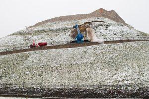 Griūvantį Gedimino kalną prižiūrės Aplinkos ministerija