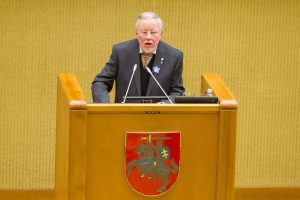 V. Landsbergis: dabar bandymai pakenkti laisvei daug rafinuotesni