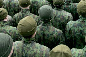 Dėl neblaivių šauktinių – kariuomenės patikrinimas