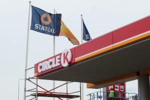 """""""Statoil"""" degalinės keičia prekės ženklą: taps """"Circle K"""""""