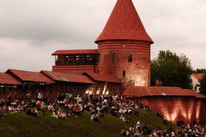 Prie Kauno pilies planuojama įrengti amfiteatrą