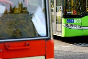 Kaune susižalojo du visuomeninio transporto keleiviai