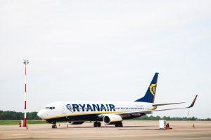"""Į Palangą atskris pirmasis """"Ryanair"""" lėktuvas"""
