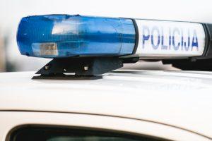 Šiauliuose policijos patrulis partrenkė du vaikus
