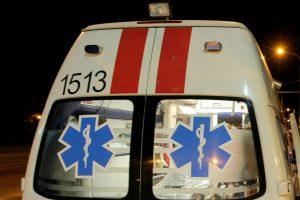Per avariją Vilniuje sužalota moteris