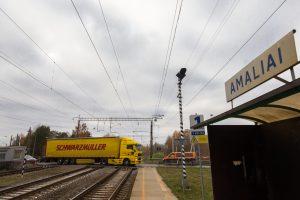 Amalių geležinkelio stotelėje nebestos traukiniai