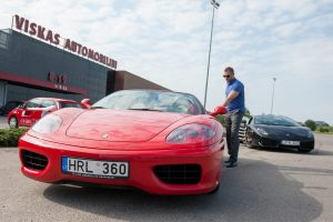 """Laisvės pojūtis ne tik su """"Ferrari"""""""