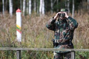 Lietuva oficialiai pripažino, kad pasieniečiai pažeidė Baltarusijos sieną
