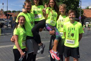 Tarp tūkstančių bėgikų – ir M. Kuzminskas