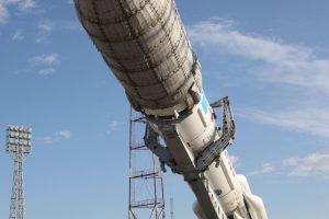 """Rusija po patirtos avarijos sėkmingai paleido raketą """"Proton-M"""""""