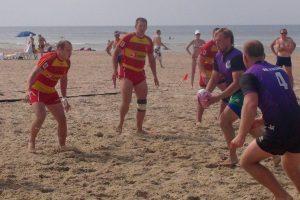 Paplūdimio regbio turnyre klaipėdiečiai užėmė antrą vietą