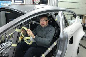 Savo sukurtu superautomobiliu – į Europos trasas