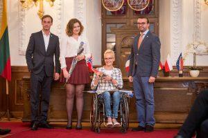 Jaunimas šventę dedikuoja neįgaliesiems