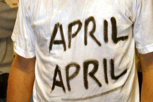 Kinija sukritikavo balandžio 1-osios pokštus