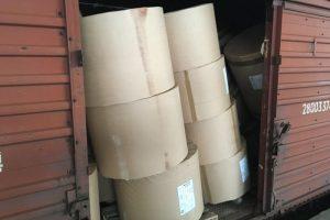Iš Baltarusijos atvykusiame traukinyje – pusės milijono vertės kontrabanda
