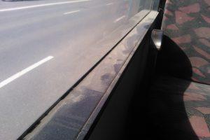 Neplautas autobusas pašiurpino kaunietę