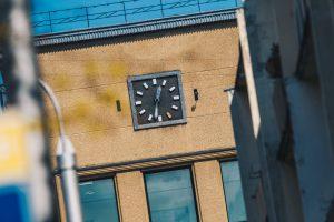 Centrinio pašto laikrodis – vis dar vasaros laike