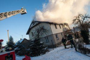 Gesinant namą Palemone prireikė ir policijos pagalbos