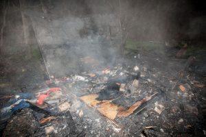 Jonavos gatvėje kilo gaisras: įtariamas padegimas