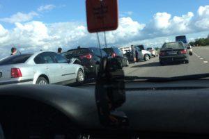 Autostradoje Klaipėda-Kaunas susidūrė net 12 automobilių