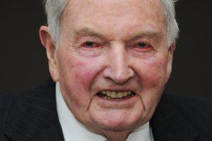 Mirė garsus JAV bankininkas ir filantropas D. Rockefelleris