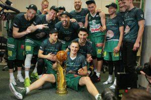 """Kauno """"Žalgiris"""" tapo LKL čempionu!"""