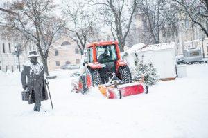 Sniego maratonas Kaune: kelininkams trūksta technikos