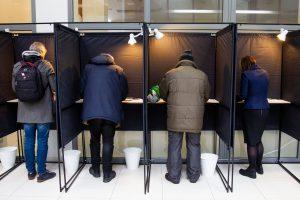 Įsigaliojo draudimas agituoti rinkimuose