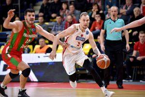 """FIBA Europos taurė: """"Nevėžis"""" palaužė vengrus, """"Juventus"""" skaudžiai pralaimėjo"""