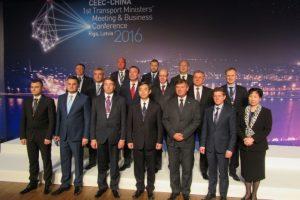 Rygoje – pirmas oficialus Kinijos ir Europos transporto ministrų susitikimas