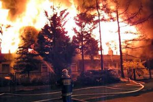 Varšuvoje per gaisrą benamių pastogėje žuvo šeši žmonės