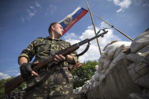 Luhanske vėl susprogdintas paminklas žuvusiems separatistams