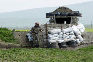 Baku ir Jerevanui susitarus dėl paliaubų, Kalnų Karabache žuvo du žmonės