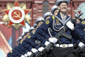 Maskvoje – tradicinis Pergalės dienos paradas