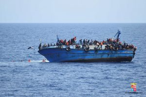 Viduržemio jūroje prie Libijos krantų nuskendo 11 migrantų, 200 dingo