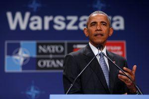 B. Obama: gerais ar blogais laikais – visada galite pasitikėti JAV