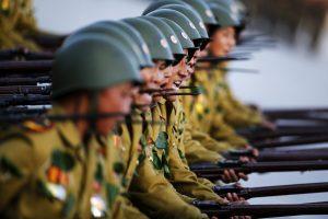 Pchenjanas tvirtina esantis pasiruošęs karinei konfrontacijai su JAV