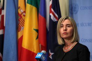 ES diplomatijos vadovė: tyrimas dėl Malaizijos lainerio turi būti tęsiamas