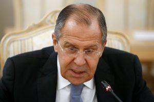 S. Lavrovas: naujų sankcijų Rusijai svarstymas – ciniškas ir nepadorus