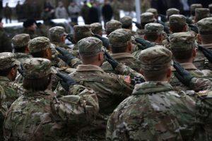 Lenkijoje per eismo nelaimę sužeisti du JAV kariai