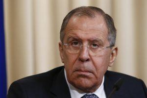 S. Lavrovas: NATO veiksmai šalia Rusijos sienų – provokacinio pobūdžio
