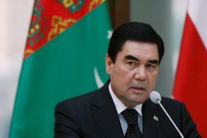 Turkmėnijos prezidentas perrinktas naujai septynerių metų kadencijai