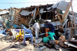 Sprogdinimo Somalio sostinėje aukų padaugėjo iki 39