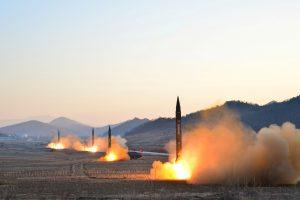 JT griežtai pasmerkė Šiaurės Korėjos raketų paleidimus