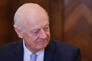 Ženevoje atnaujinamos JT derybos dėl taikos Sirijoje