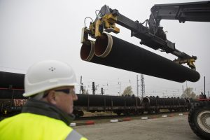"""""""Nord Stream 2"""" gali tapti stipriu Rusijos spaudimo Europai instrumentu"""