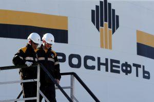 """Rusijos naftos milžinė """"Rosneft"""" patyrė kibernetinę ataką"""