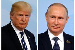 Per G-20 susitikimą įvyko papildomas D. Trumpo ir V. Putino pokalbis